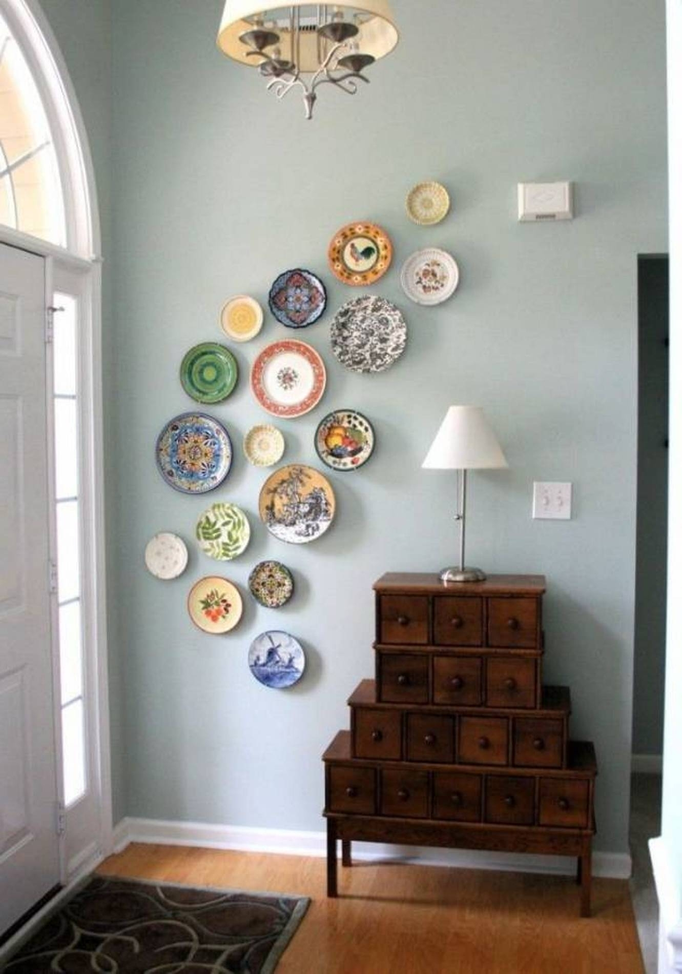 Unique Wall Art Ideas Images | Wall Decorations For 2018 Ceiling Medallion Wall Art (Gallery 14 of 15)