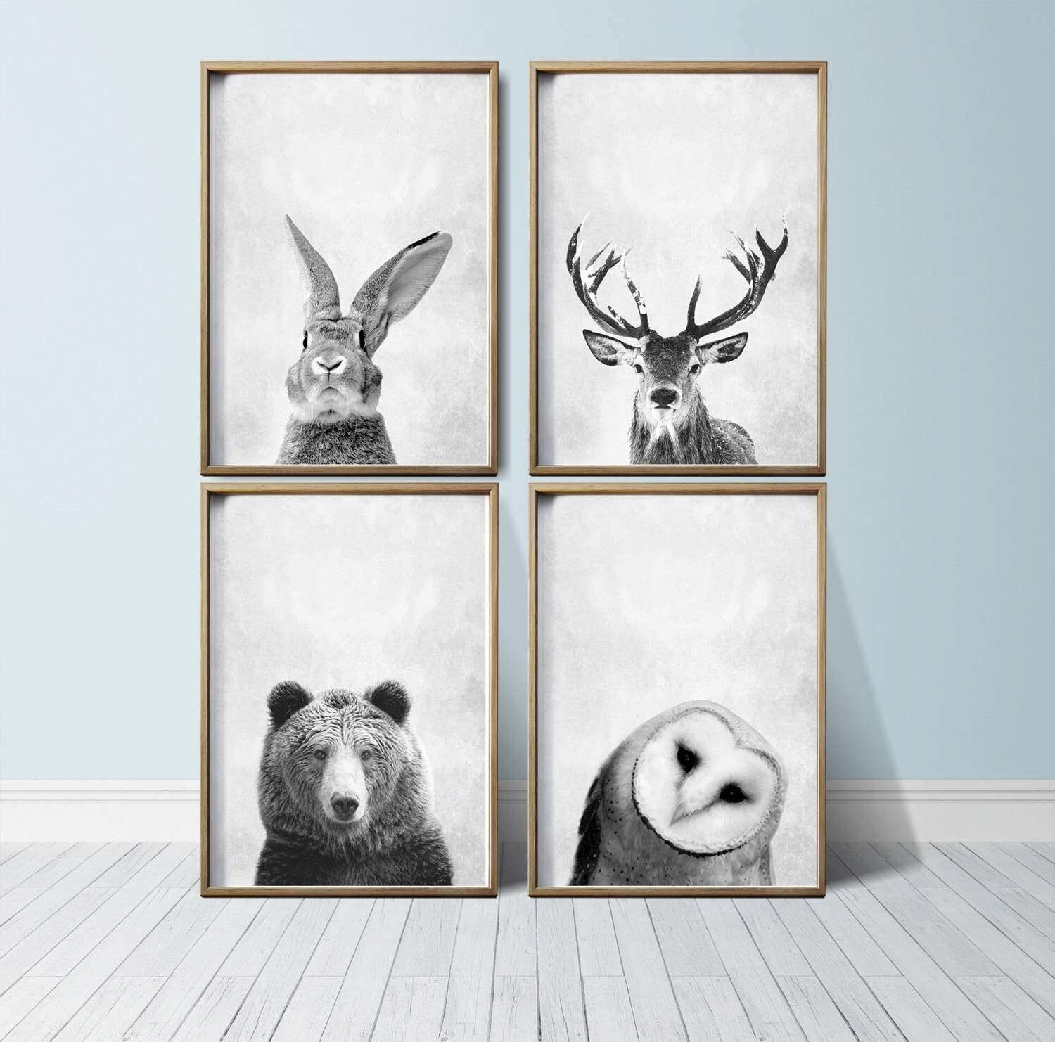 Unique Wall Art Prints Luxury Nursery Wall Art Animal Print Art With Best And Newest Woodland Nursery Wall Art (View 9 of 20)