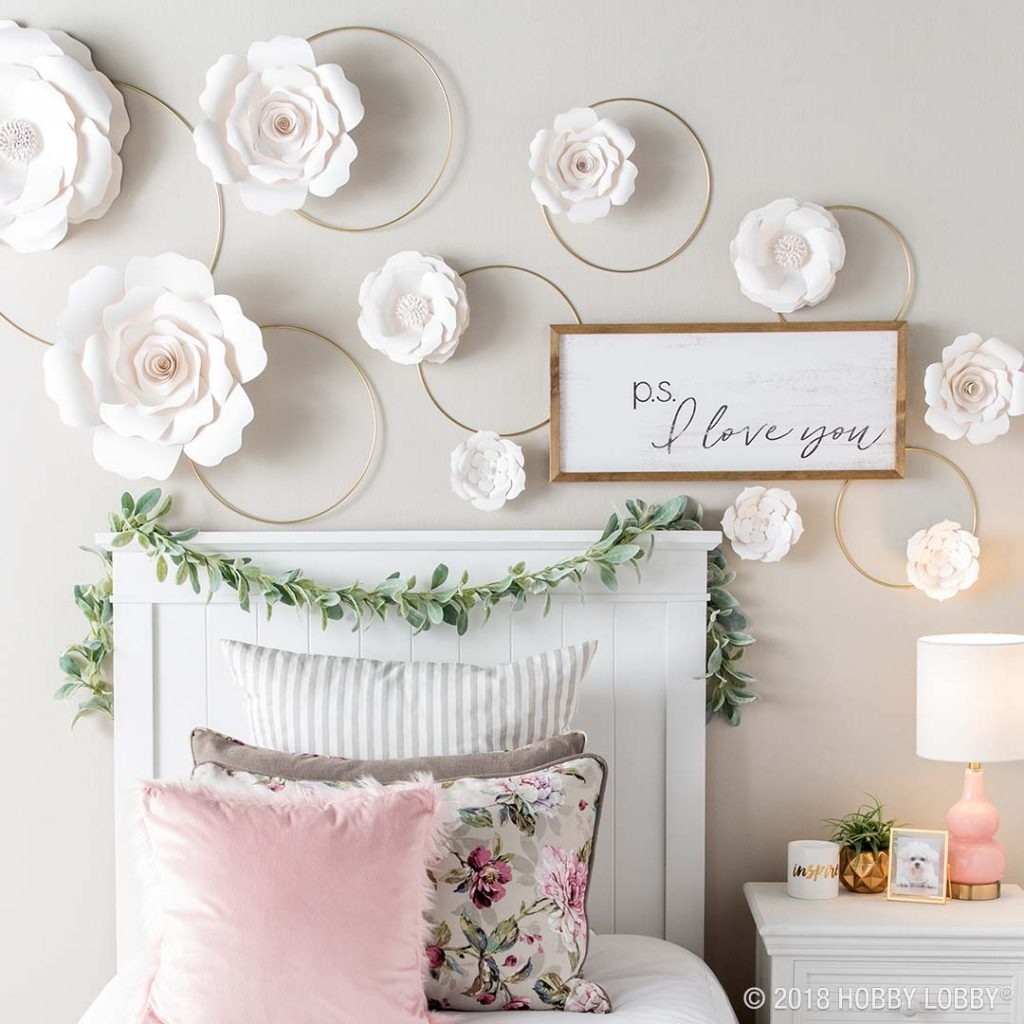Unique Wall Decor For Spring And Summer Styling Throughout Most Up To Date Hobby Lobby Wall Art (View 17 of 20)