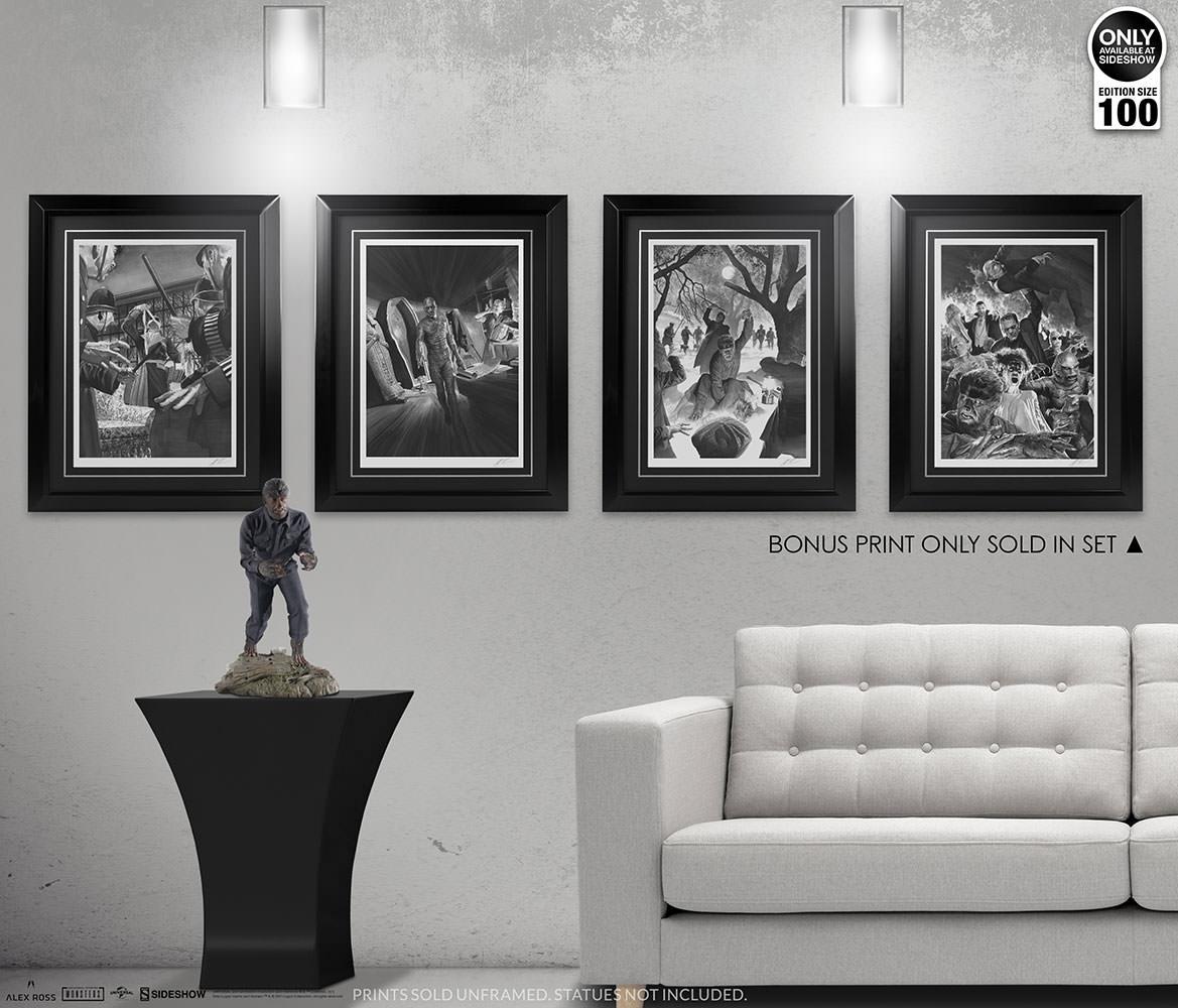 Universal Monsters Universal Monsters Art Printalex Ross For Recent Ross Wall Art (Gallery 7 of 20)