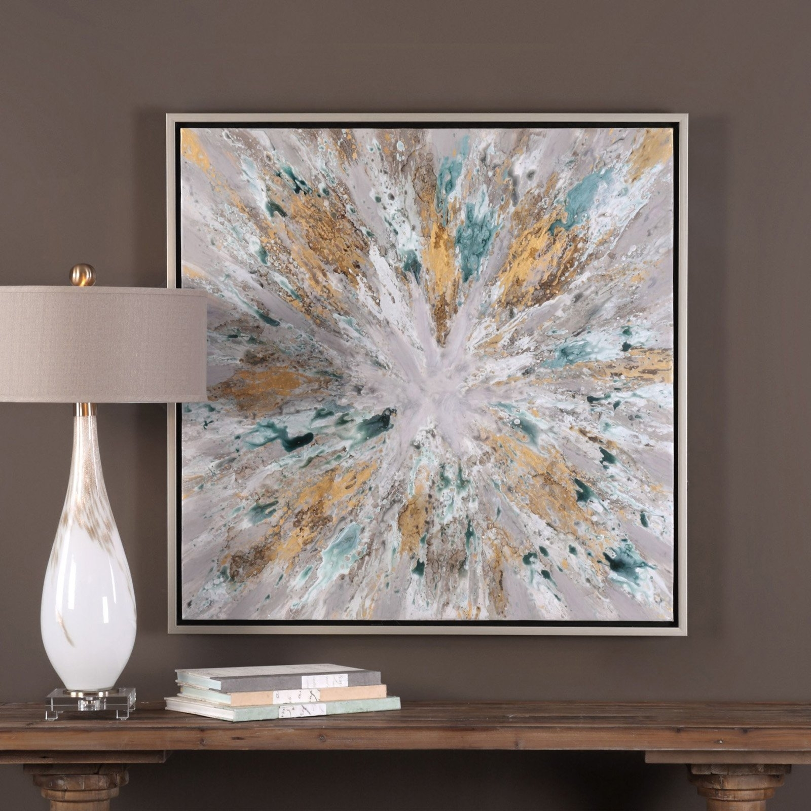 Uttermost Exploding Star Wall Art | Hayneedle Within Most Recently Released Uttermost Wall Art (View 13 of 20)