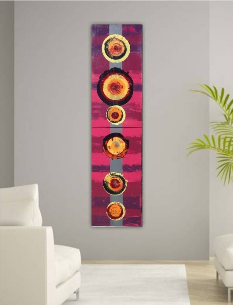 Vertical Wall Art – Culturehoop Pertaining To Most Current Vertical Wall Art (Gallery 15 of 20)