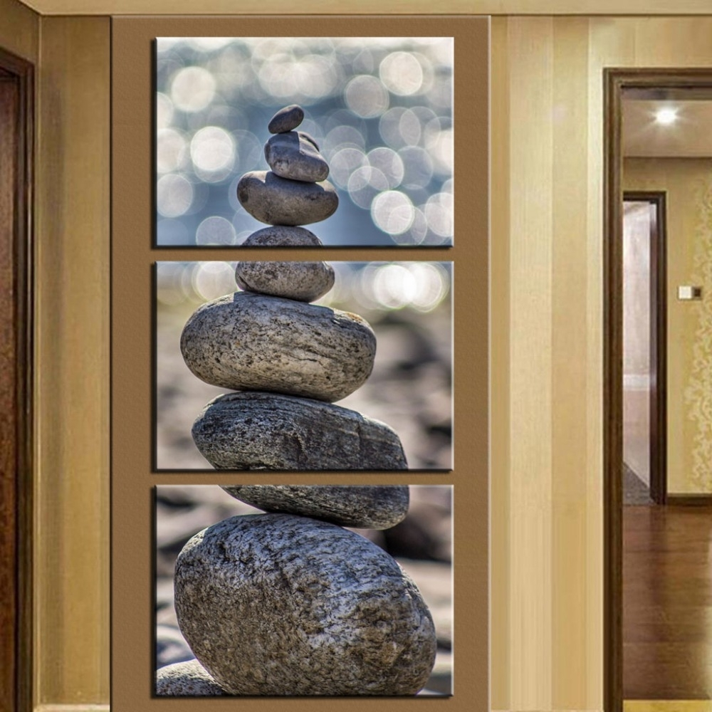 Vertical Wall Art No Frame Andrews Living Arts Thousand Ideas Within Latest