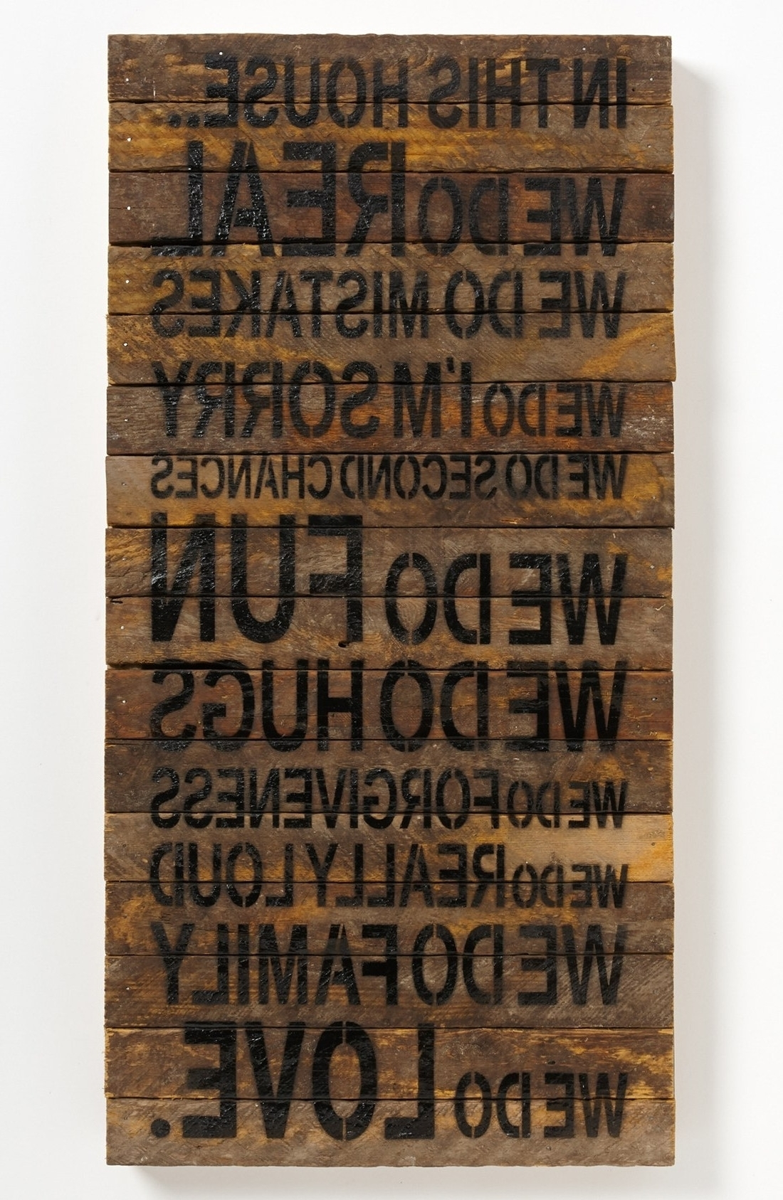 View S Of Wooden Wall Art Quotes Showing 5 Of 15 S Inspiration Of intended for Most Popular Wood Wall Art Quotes