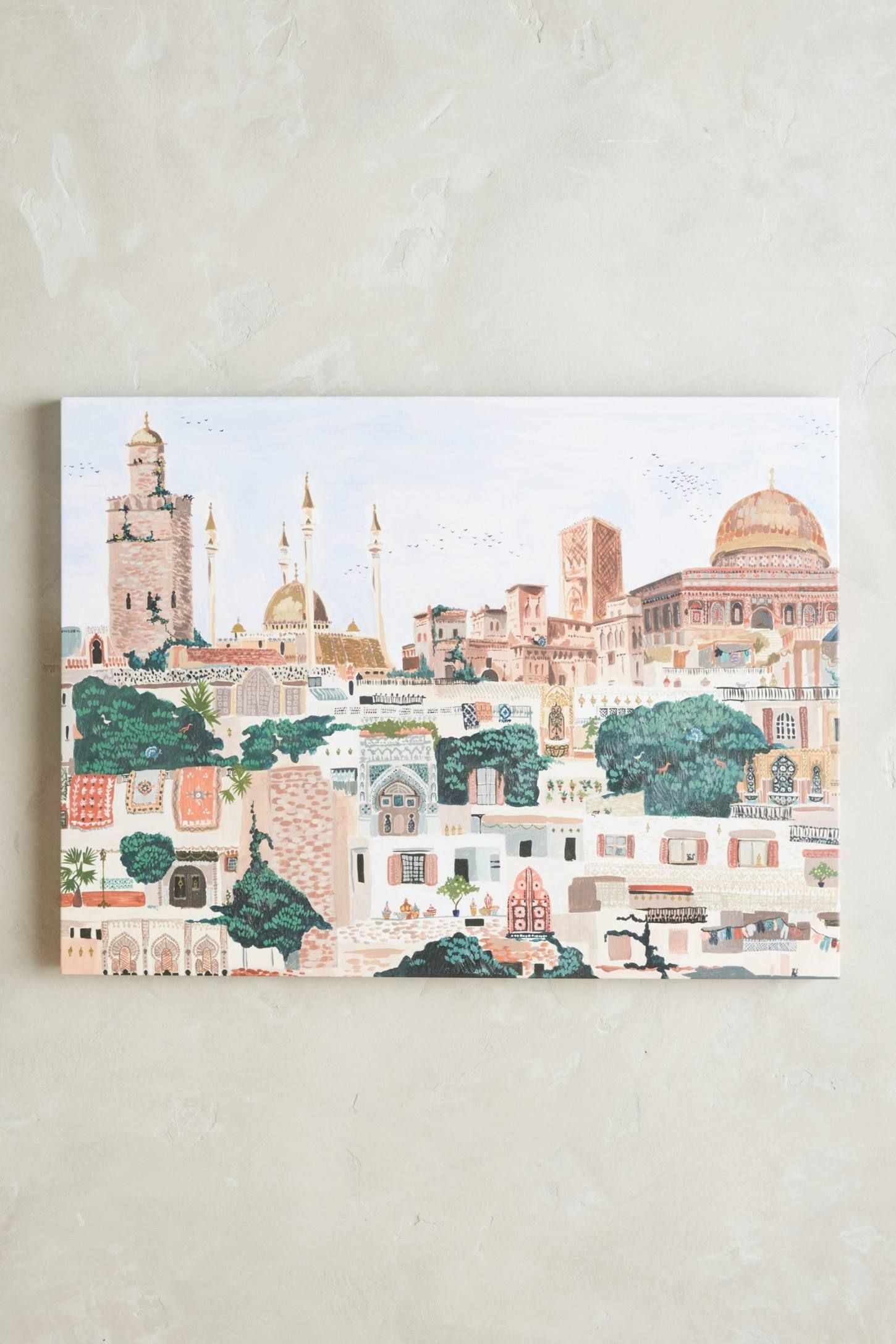 Villaggio Wall Art | Walls, Dorm Rooms And Flats intended for Most Recent Anthropologie Wall Art