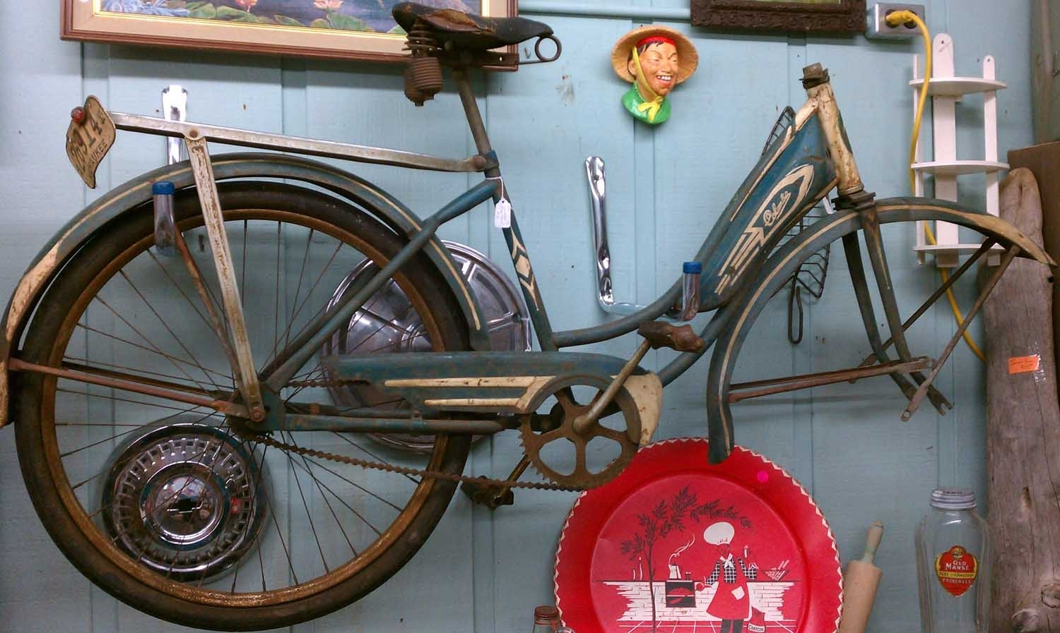 Vintage Bicycle Wall Art : Andrews Living Arts – Nice Design Bicycle Pertaining To 2017 Bicycle Wall Art (Gallery 7 of 20)