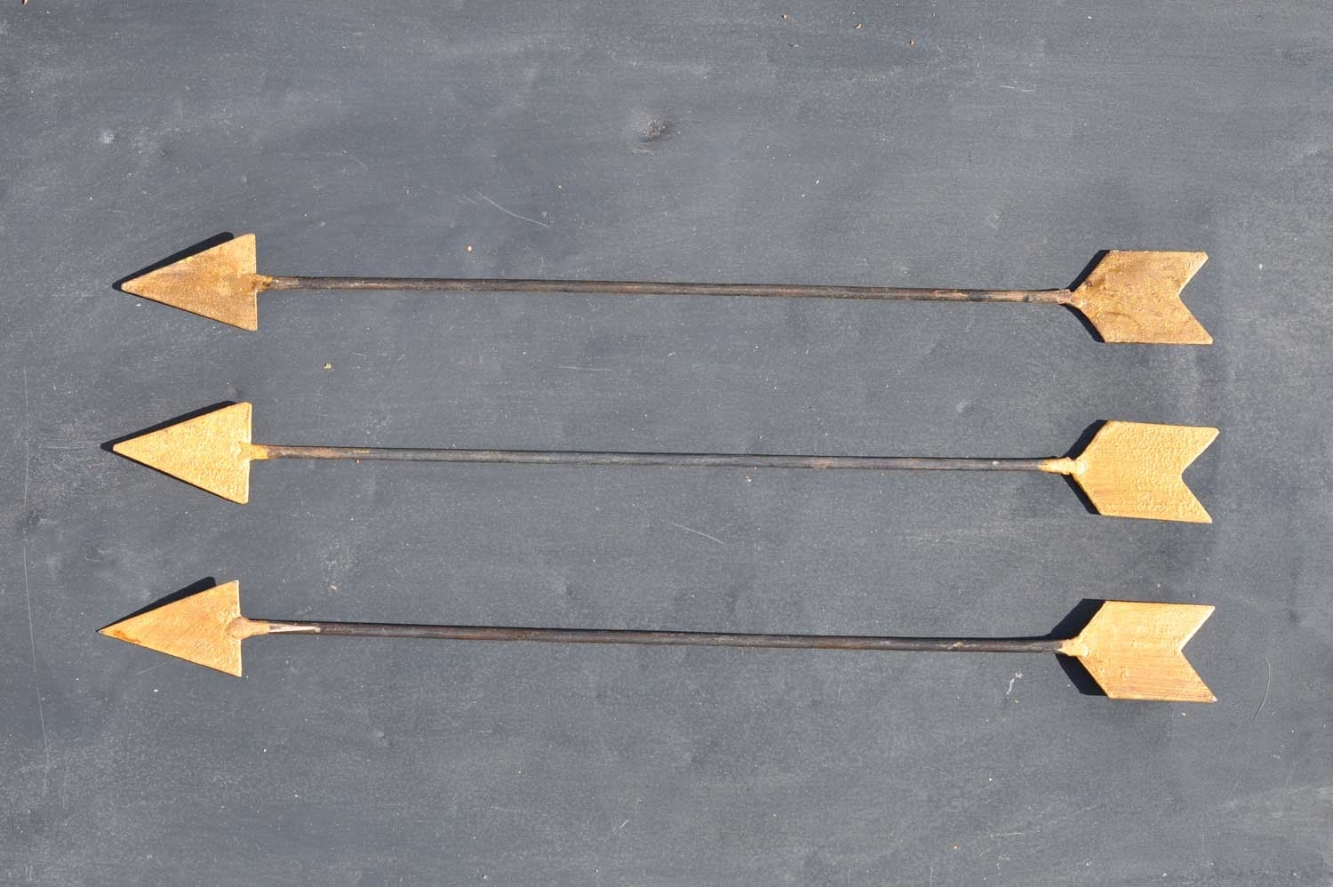 Vintage Inspired Metal Arrow Wall Art – Home Decor – Home Barn Vintage Inside 2018 Arrow Wall Art (View 11 of 20)