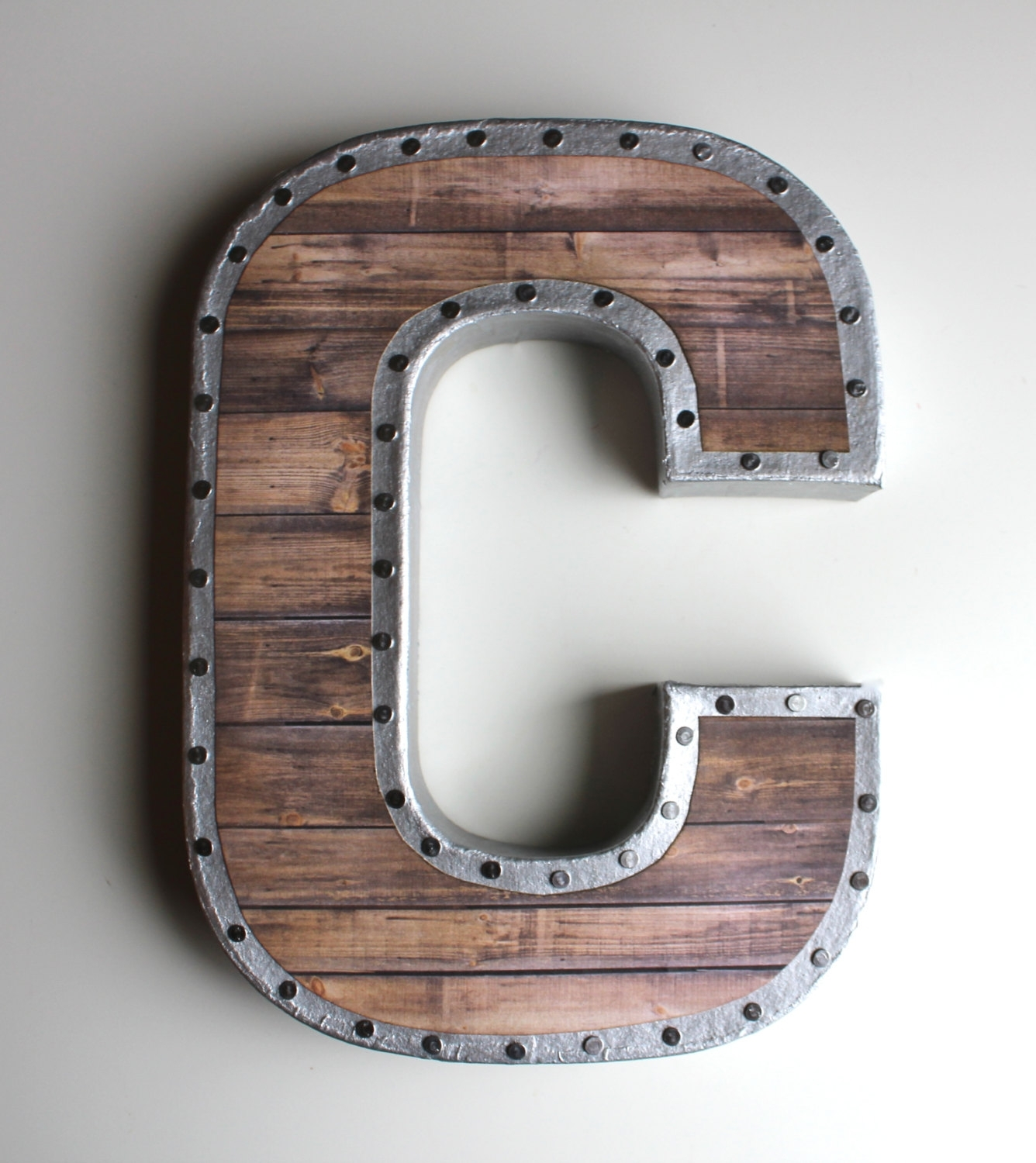 Vintage Metal Letters For The Wall – Blogtipsworld Intended For Most Recently Released Metal Letter Wall Art (View 18 of 20)