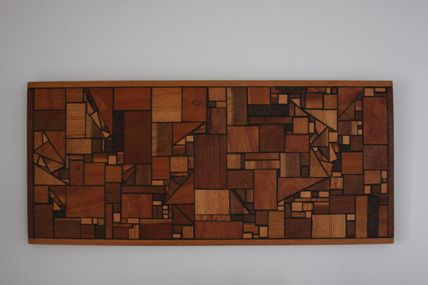Vintage Mid Century Modern Wood Wall Art Hanging Geometric – Tierra Inside 2017 Mid Century Wall Art (View 17 of 20)