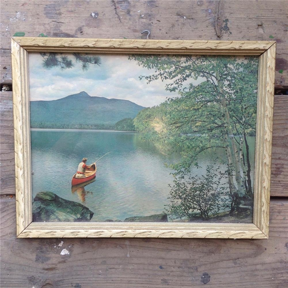 Vintage Wall Art / Wilderness Wall Art – Toronto Antique Vintage Shop In Latest Vintage Wall Art (View 10 of 15)