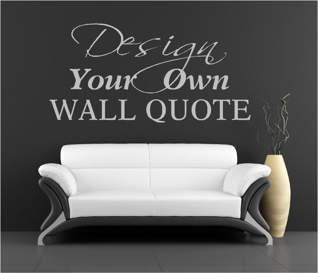 Vinyl Wall Art - 3 - In Decors pertaining to Most Popular Vinyl Wall Art