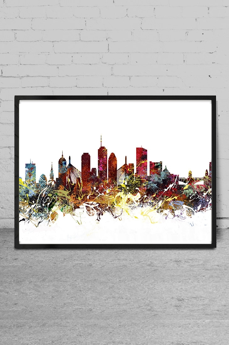 Wall Art Boston – Elitflat With Regard To Most Current Boston Wall Art (Gallery 6 of 20)