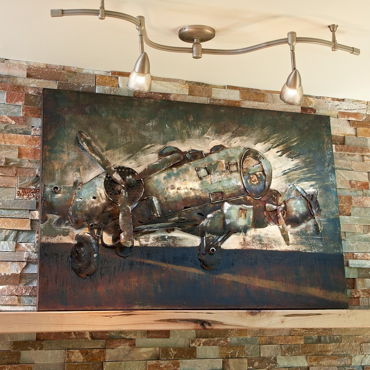 Wall Art Classy Design Aviation Wall Decor With Metal B 17 Bomber With Regard To Current Aviation Wall Art (Gallery 8 of 20)