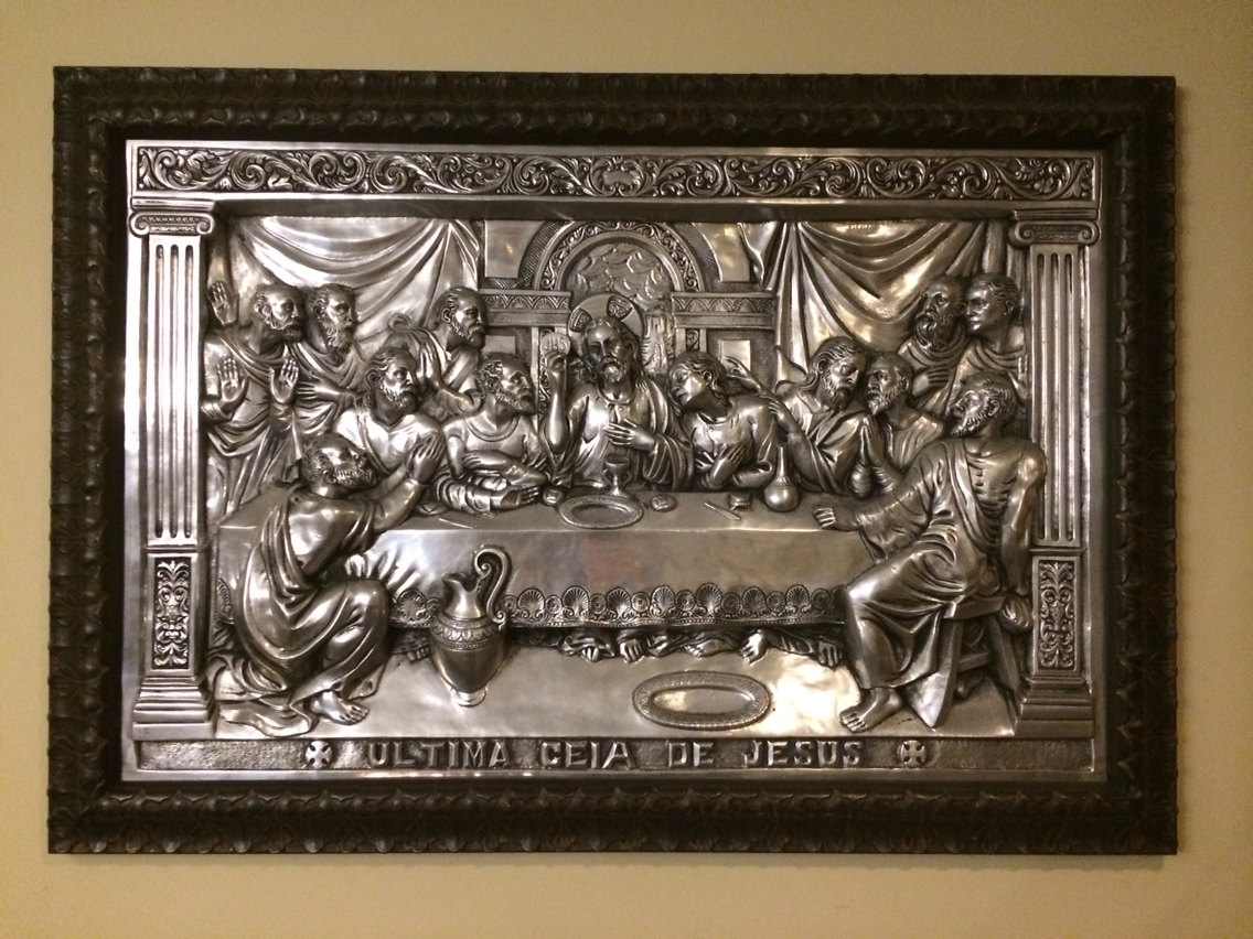 Wall Art Design Ideas: Ultima The Last Supper Wall Art Sample Zoom Throughout Most Recently Released Tin Wall Art (View 13 of 20)