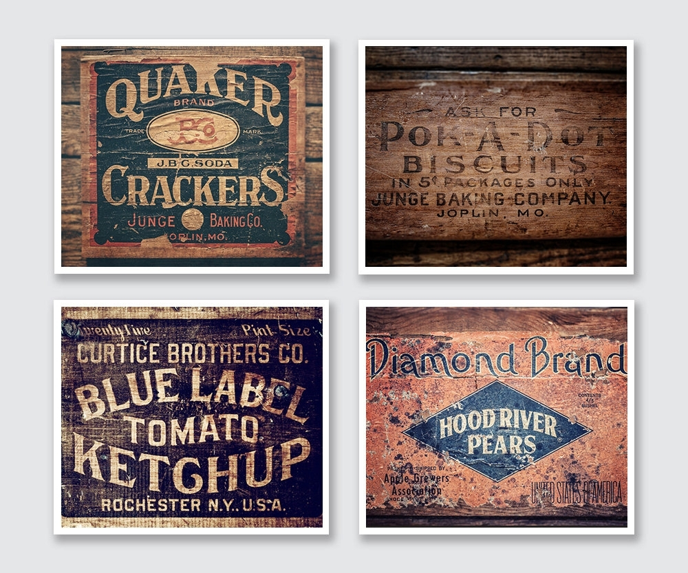 Wall Art Designs: Vintage Wall Art For Kitchen Design, Vintage Wall Pertaining To Recent Vintage Wall Art (Gallery 2 of 15)
