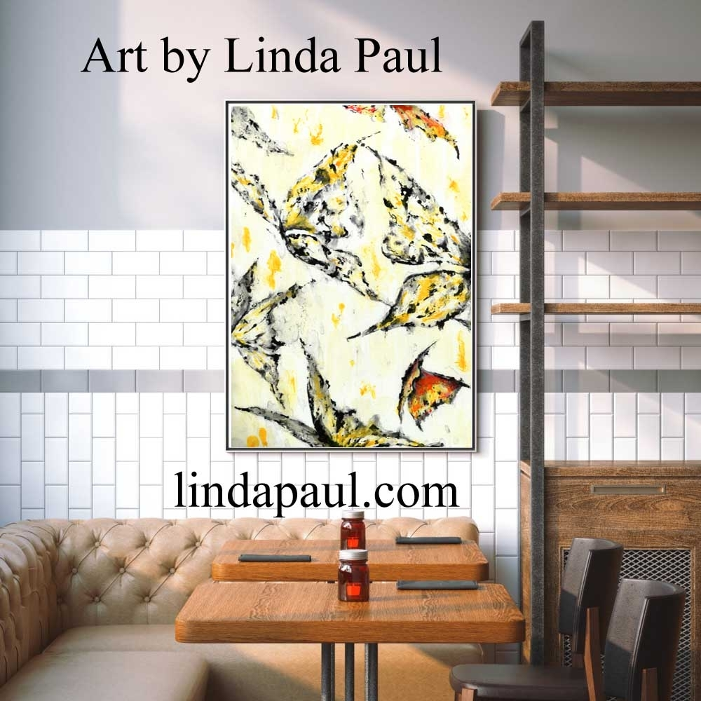 Wall Art For Restaurants And Hotels – Original Artwork And Tiles Inside Most Recent Tile Canvas Wall Art (View 3 of 20)