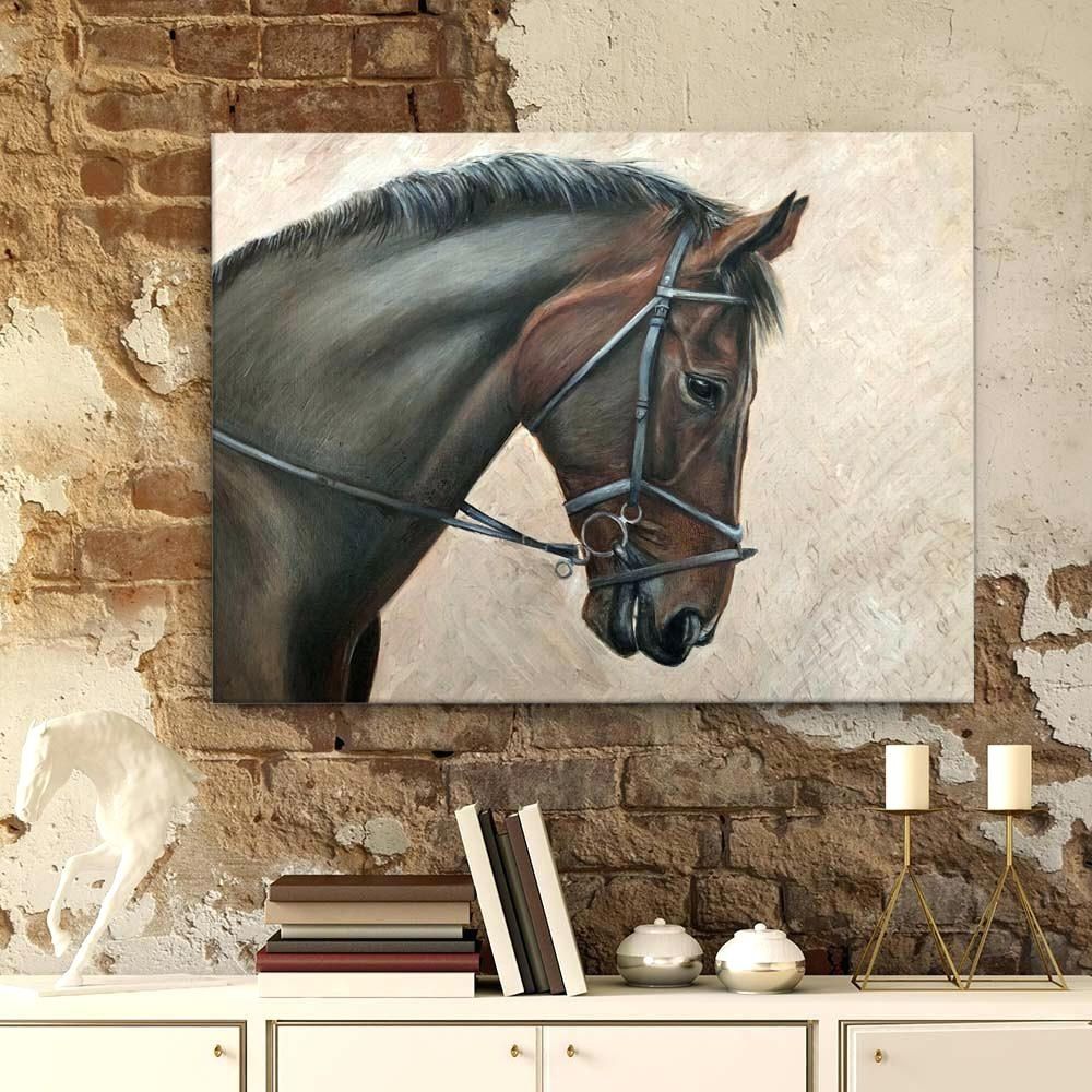 Wall Art Horses Wall Art Designs Horse Wall Art Horses Wall Art For Most Recently Released Horses Wall Art (Gallery 13 of 20)