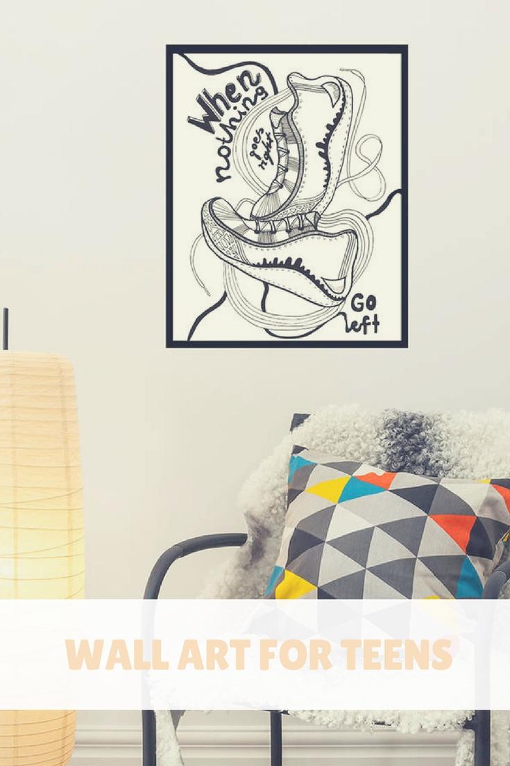 Wall Art | Inspiration Wall Art | Teen Wall Art For Room | Creative Inside Newest Teen Wall Art (View 17 of 20)