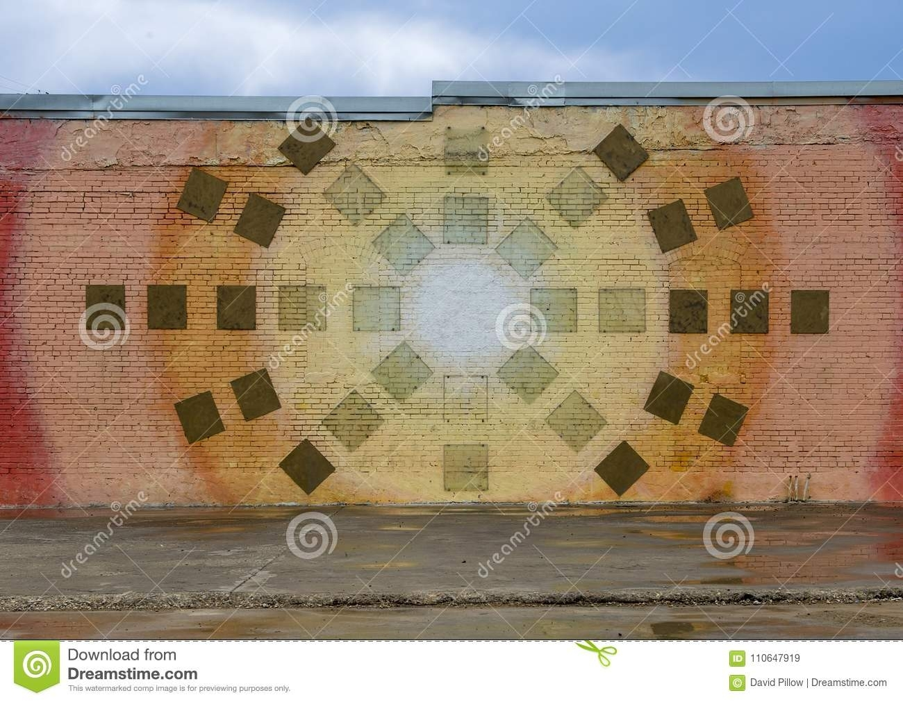 Wall Art Mural In Deep Ellum, Dallas, Texas Editorial Stock Image Pertaining To Most Up To Date Texas Wall Art (View 17 of 20)