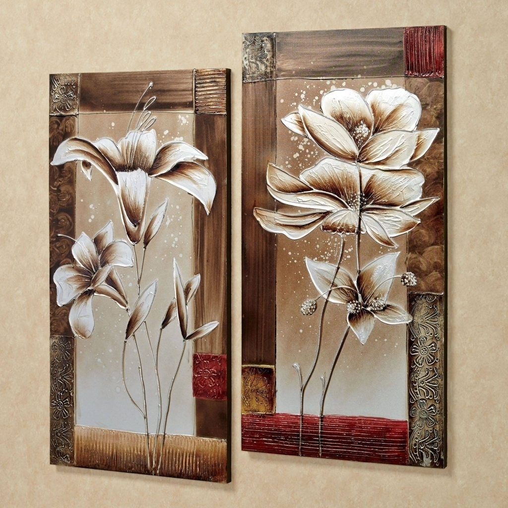 Wall Art Set Of 2 – Turbid For Latest Set Of 2 Framed Wall Art (Gallery 4 of 20)