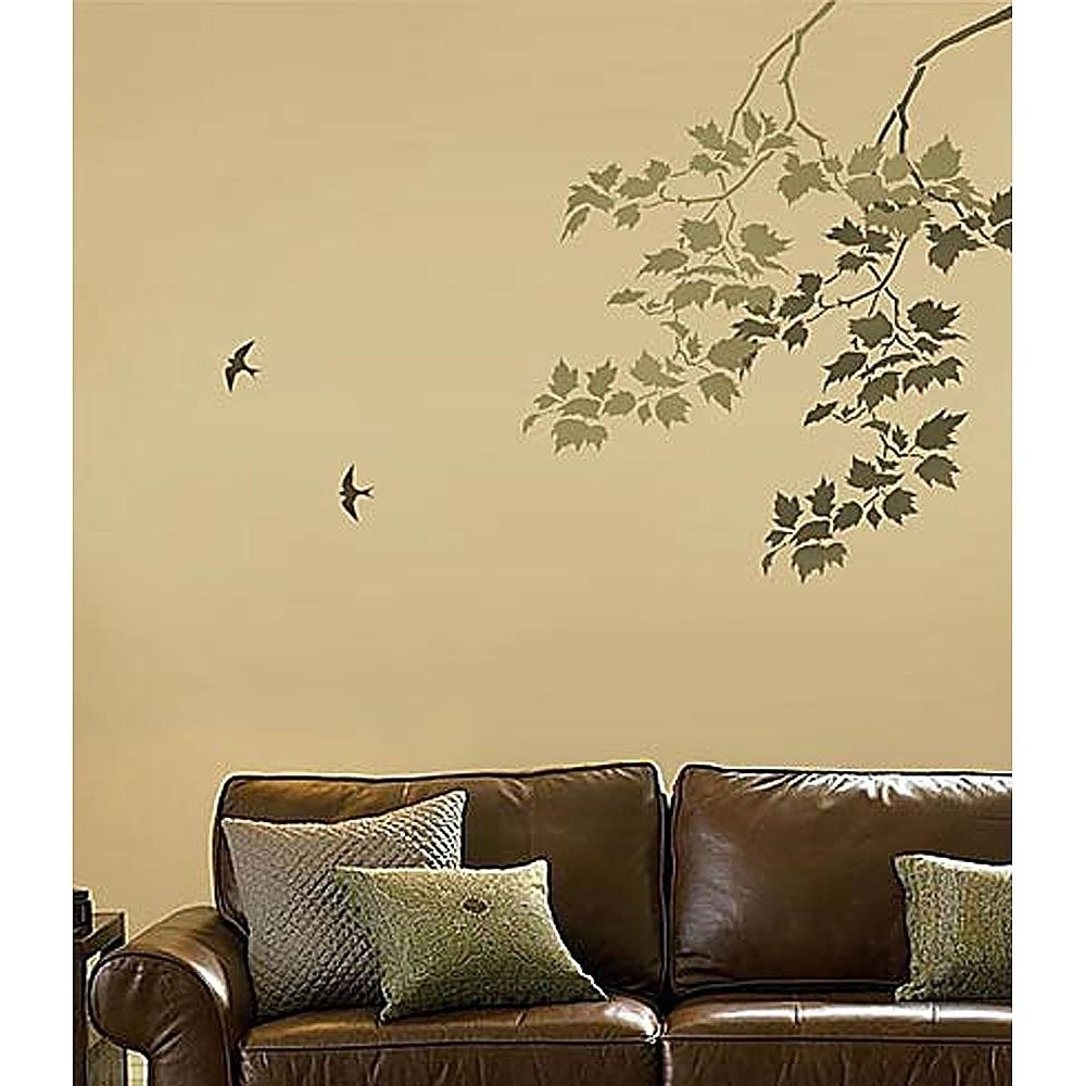 Wall Art Stencils, Stencil Designs For Easy Wall Decor (View 4 of 20)