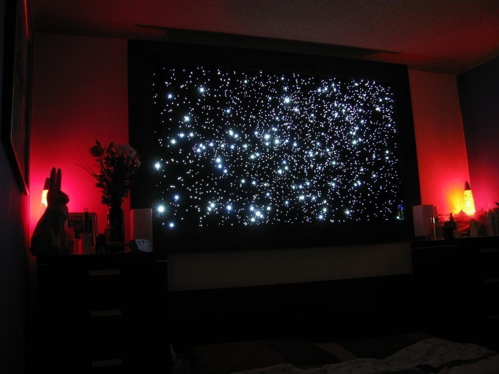 Wall: Clever Design Ideas Canvas Light Up Wall Art Christmas With Most Up To Date Light Up Wall Art (View 4 of 20)