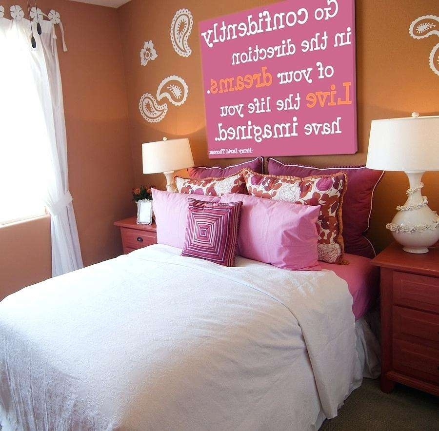 Wall Decor Teenage Girl Bedroom Best Of Decoration Wall Art For Intended For Most Current Teen Wall Art (View 18 of 20)