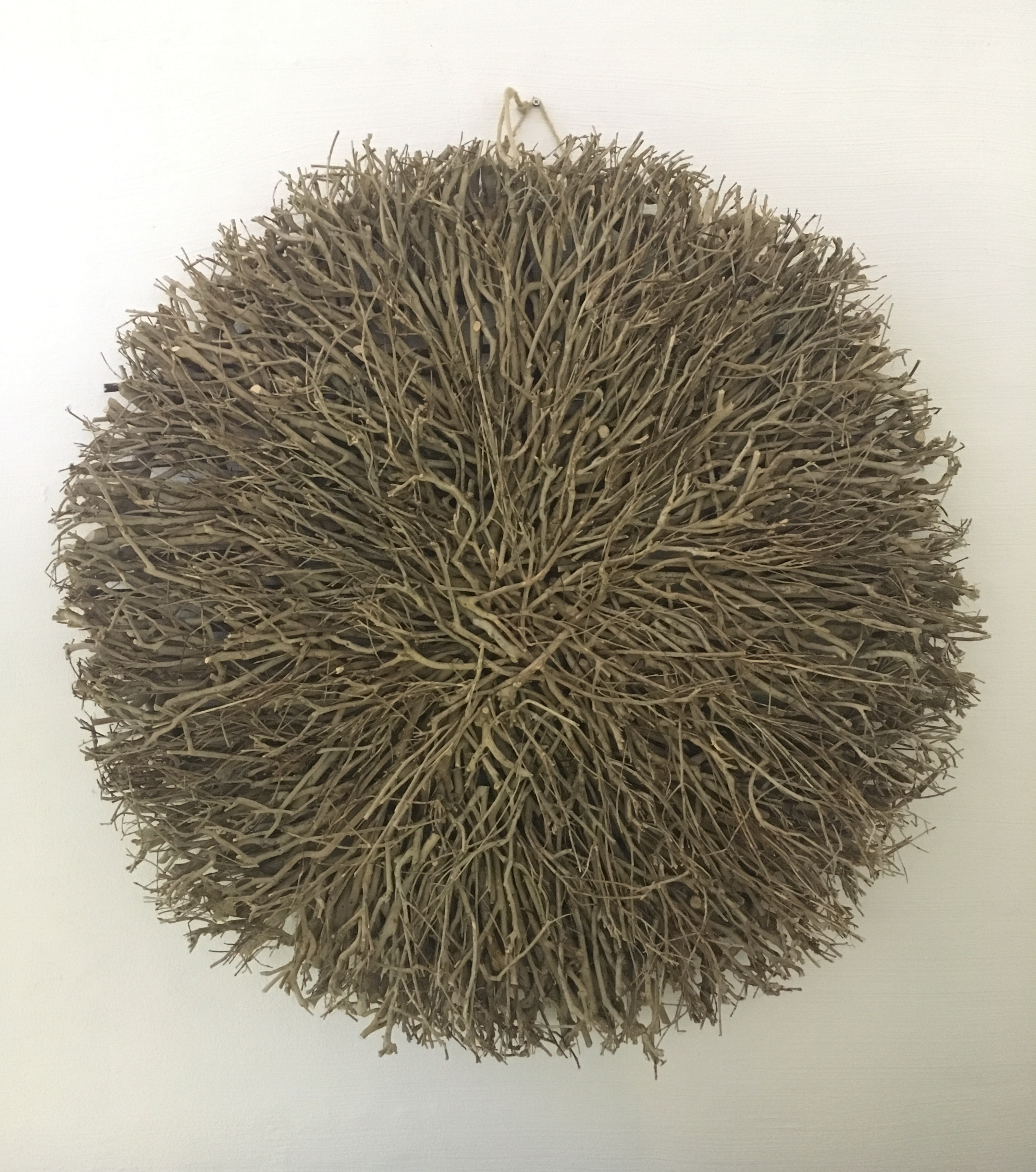 Wall Decor – Twig Large Round Natural – Daydream Leisure Furniture In Most Recently Released Round Wall Art (View 7 of 20)