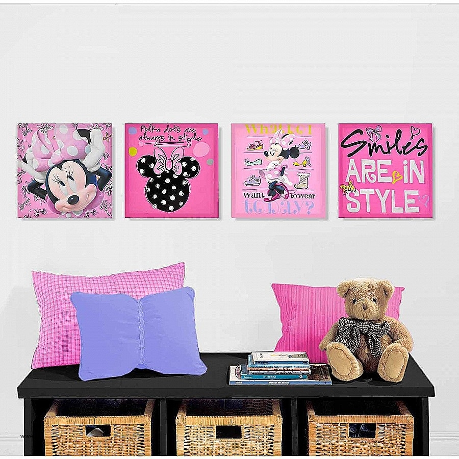 Wall Decor: Walmart Wall Art Decor Awesome Minnie Mouse Room Regarding Current Wall Art At Walmart (View 7 of 20)