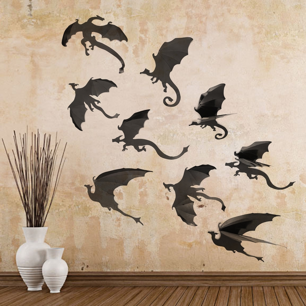 Wall Decoration. Dragon Wall Art – Wall Decoration And Wall Art Ideas With Most Recently Released Dragon Wall Art (Gallery 17 of 20)