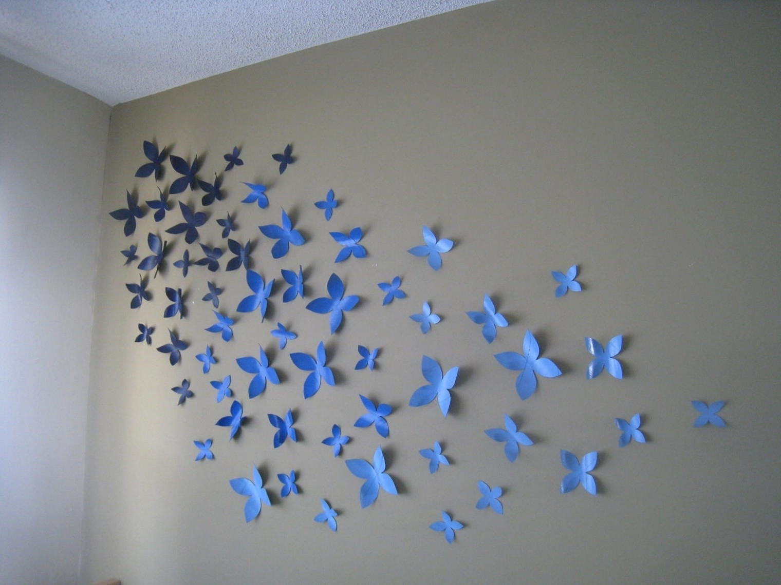 Wall Decoration Idea Paper Wall Decor Diy Paper Wall Art Designs With Most Recent Paper Wall Art (View 10 of 20)
