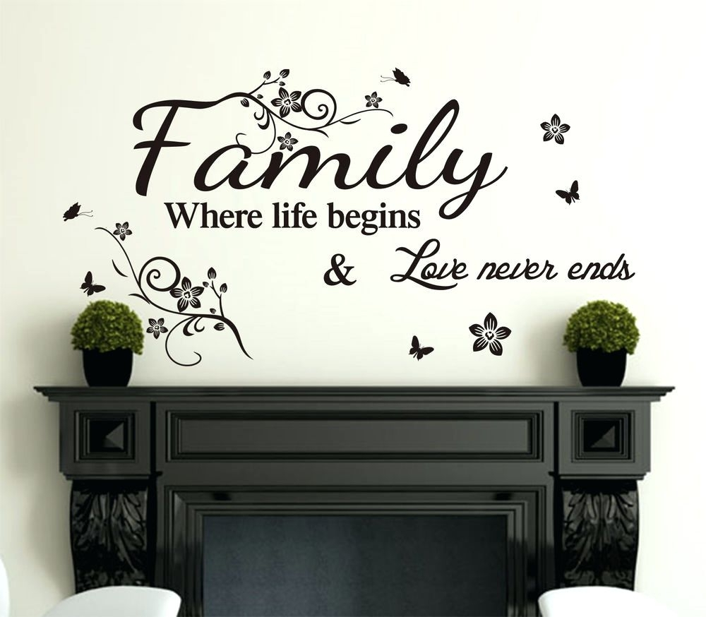 Wall Decoration. Wall Art Sayings – Home Design And Wall Decoration For Most Recently Released Wall Art Sayings (Gallery 11 of 20)