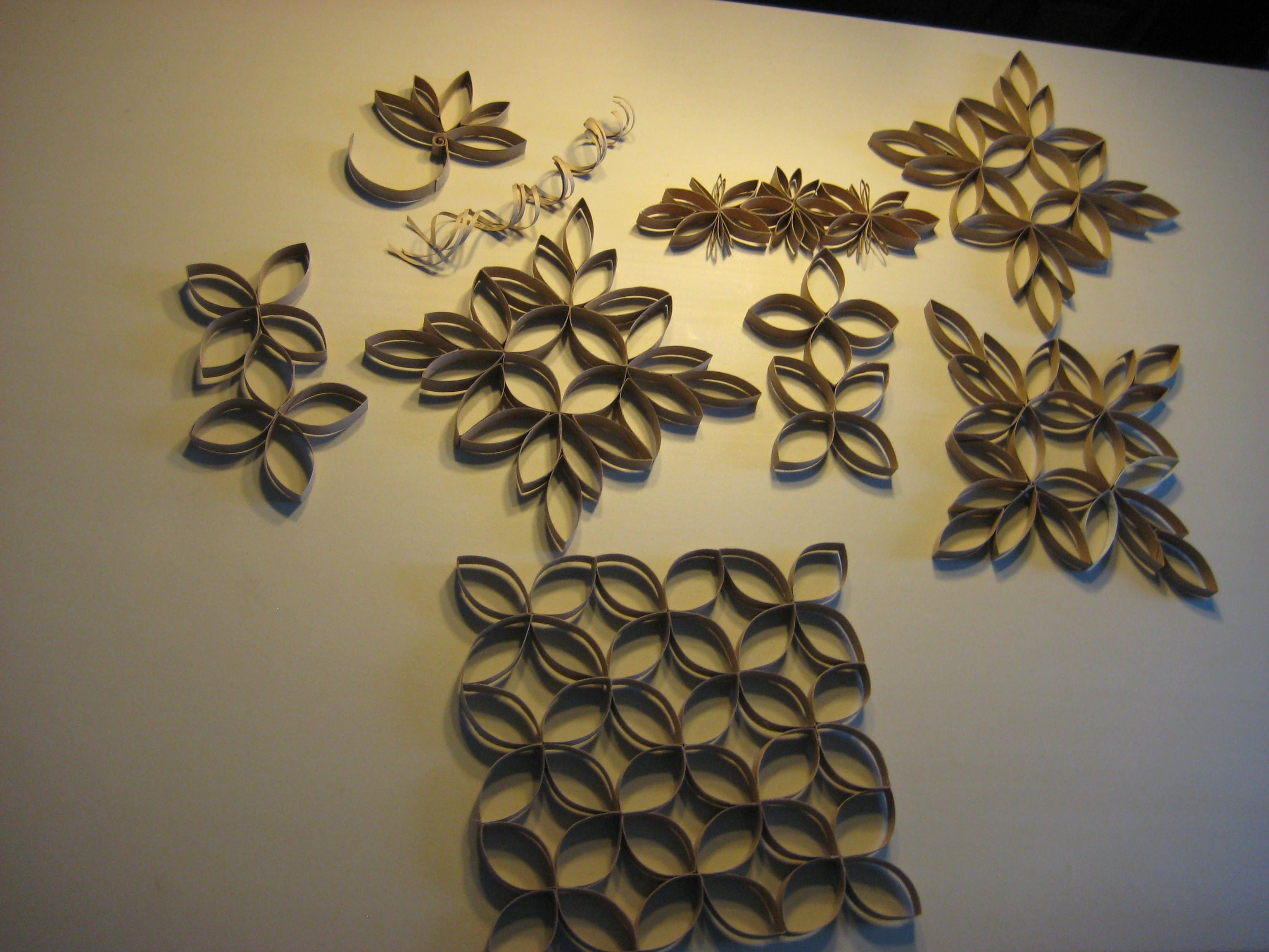 Wall Decoration With Paper Beautiful These Are Toilet Paper Roll Pertaining To Best And Newest Toilet Paper Roll Wall Art (View 20 of 20)