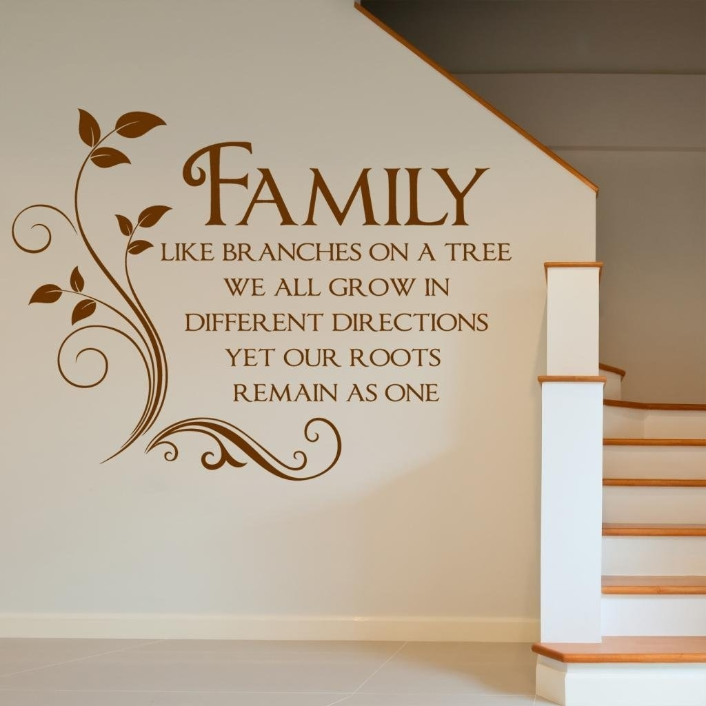 Wall Decoration. Word Wall Art – Wall Decoration And Wall Art Ideas Regarding Latest Word Wall Art (Gallery 19 of 20)