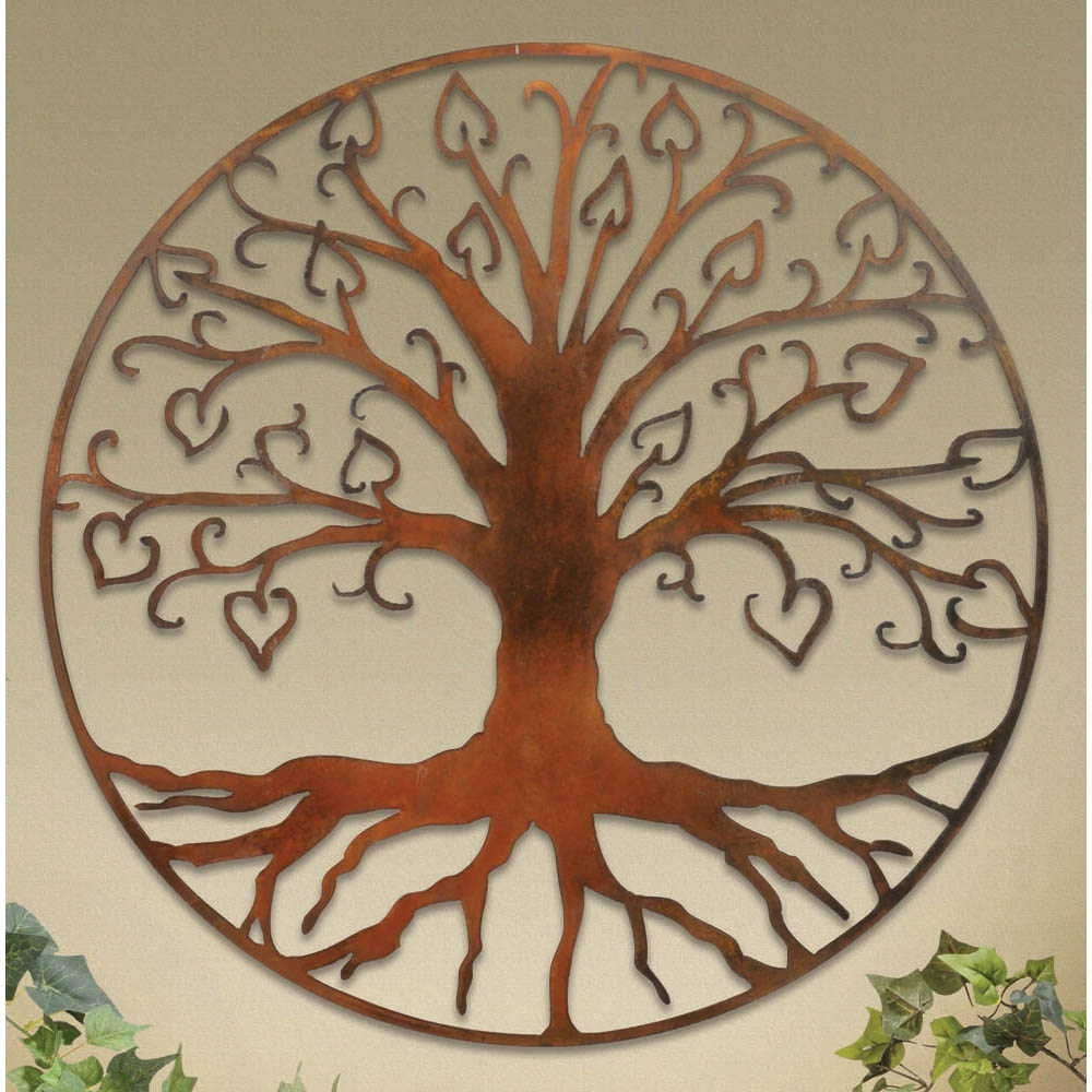 Wall Plaques: Tree Of Life Wall Art Plaque Inside Most Current Tree Of Life Wall Art (View 4 of 15)