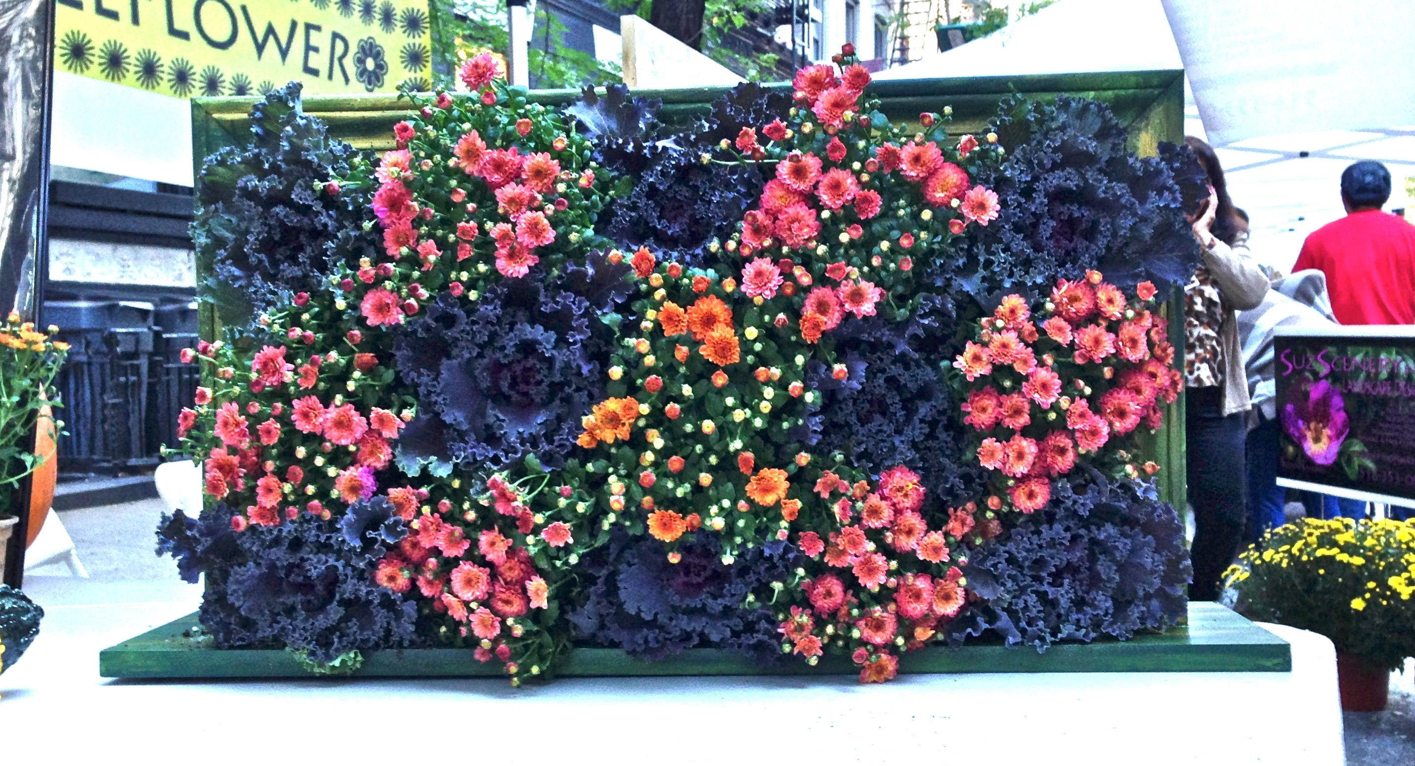 "Wallflower"" Living Wall Art 