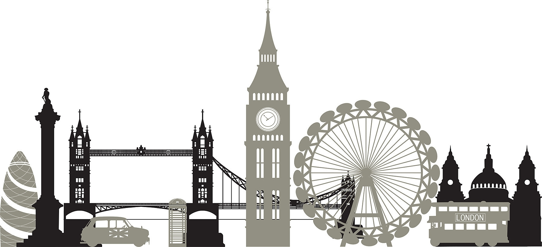 Wallpops! Wall Art Kit London Calling Small Wall Decal & Reviews Throughout Most Up To Date London Wall Art (View 20 of 20)