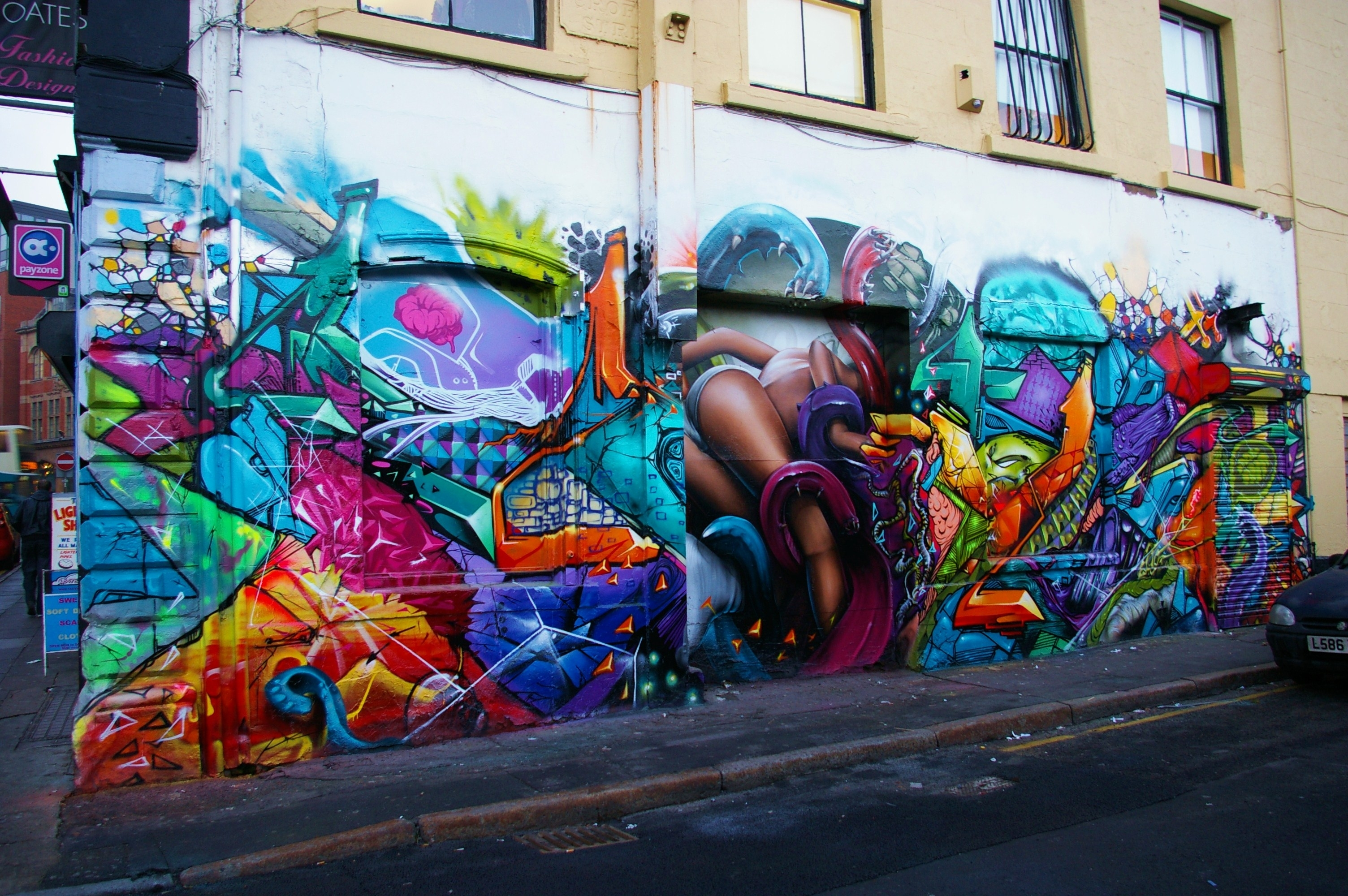 Walls For Artists – Zap Graffiti Liverpool Throughout Most Current Graffiti Wall Art (Gallery 18 of 20)
