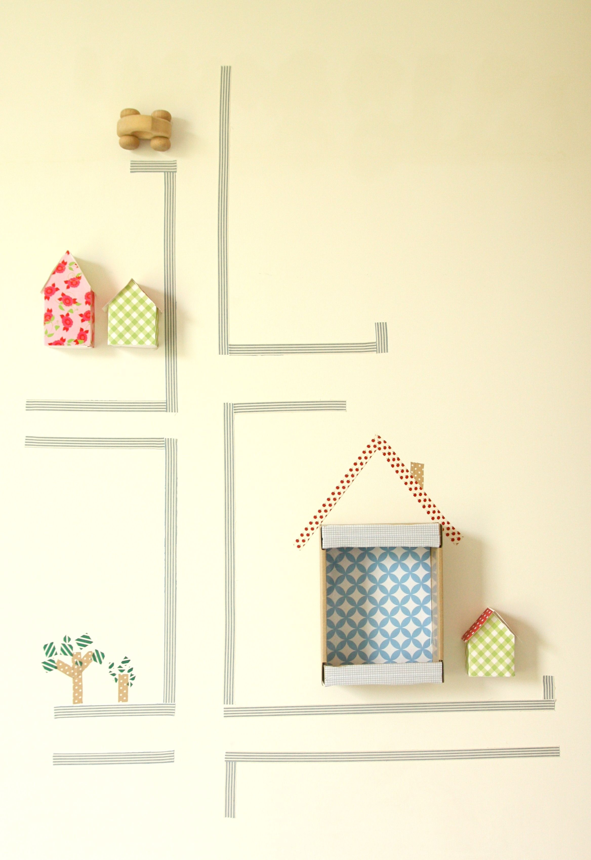 Washi Tape Wall Decoration – Dymyself | Share Your Craft | Pinterest For Most Current Washi Tape Wall Art (View 20 of 20)