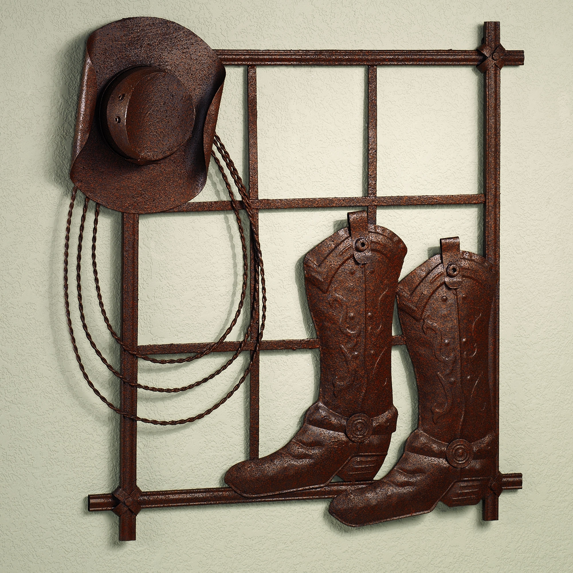 Western Wall Art Southwestern Decor Metal Hangings | Interior And Pertaining To Newest Western Wall Art (View 6 of 20)