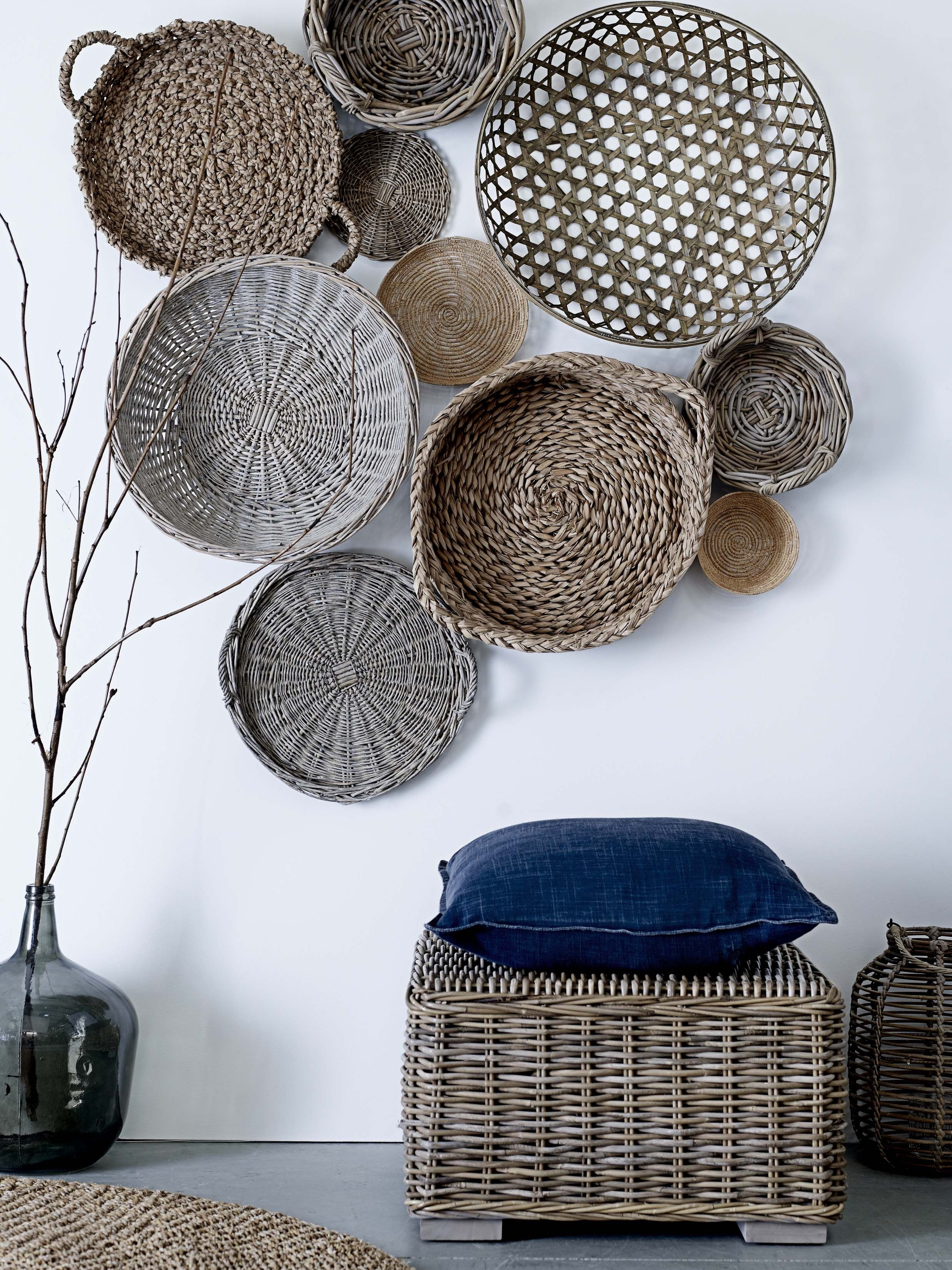 What To Hang On The Wall {Besides Art And Photos | Home Decor And Within Most Up To Date Woven Basket Wall Art (View 16 of 20)