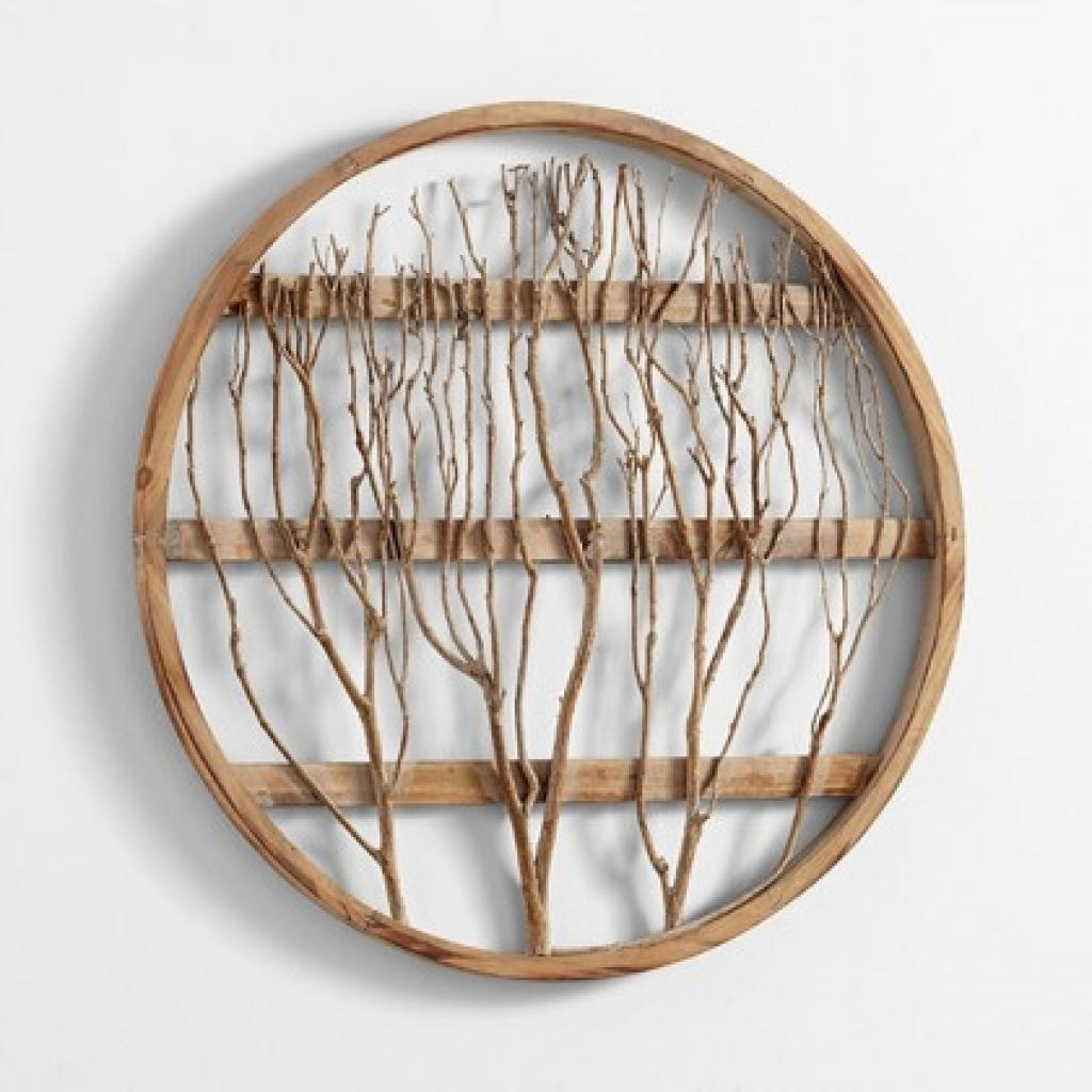 Wood Circle Wall Art 20+ Choices Of Large Round Wall Art | Wall Art With Regard To Latest Round Wall Art (Gallery 15 of 20)