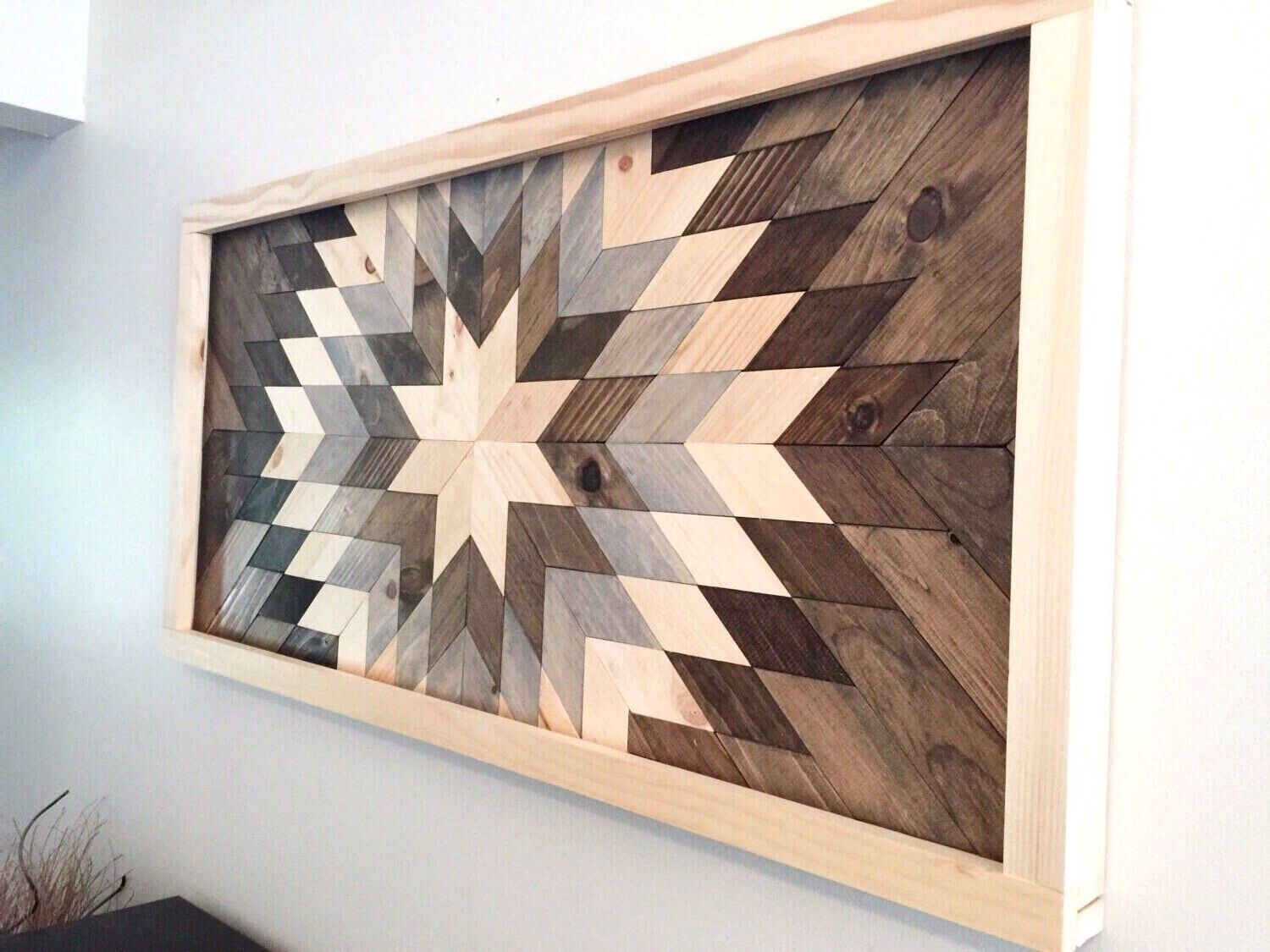 Wood Decor Wall Art Wood Wall Art Diy Excellent Wooden Decor Ideas For Newest Diy Wood Wall Art (View 17 of 20)