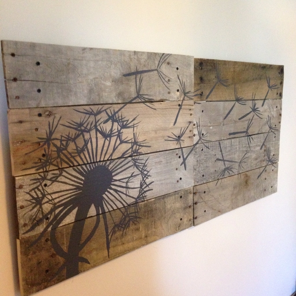Wood Plank Wall Hanging Large Wood Plank Wall Art Andrews Living Pertaining To Best And Newest Plank Wall Art (View 5 of 20)