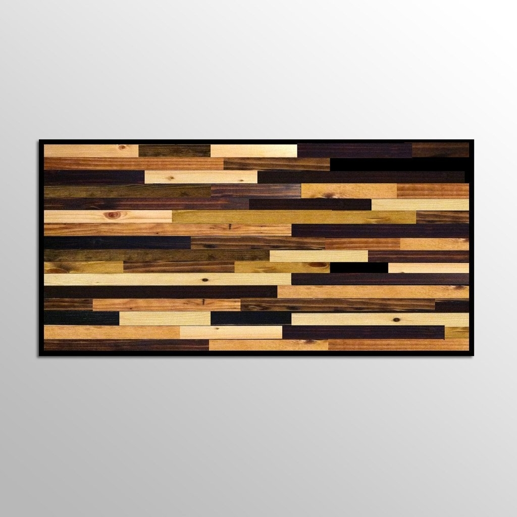 Wood Plank Wall Hanging Wood Plank Wall Art – Wall Art Ideas Pertaining To Most Recent Plank Wall Art (View 6 of 20)
