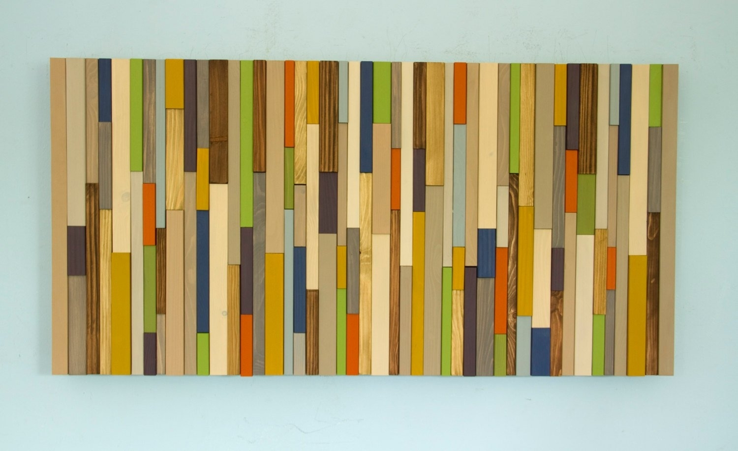 Wood Wall Art, Modern Wood Art, Reclaimed 3D Wood Sculpture, Mid Pertaining To 2018 Mid Century Wall Art (Gallery 14 of 20)