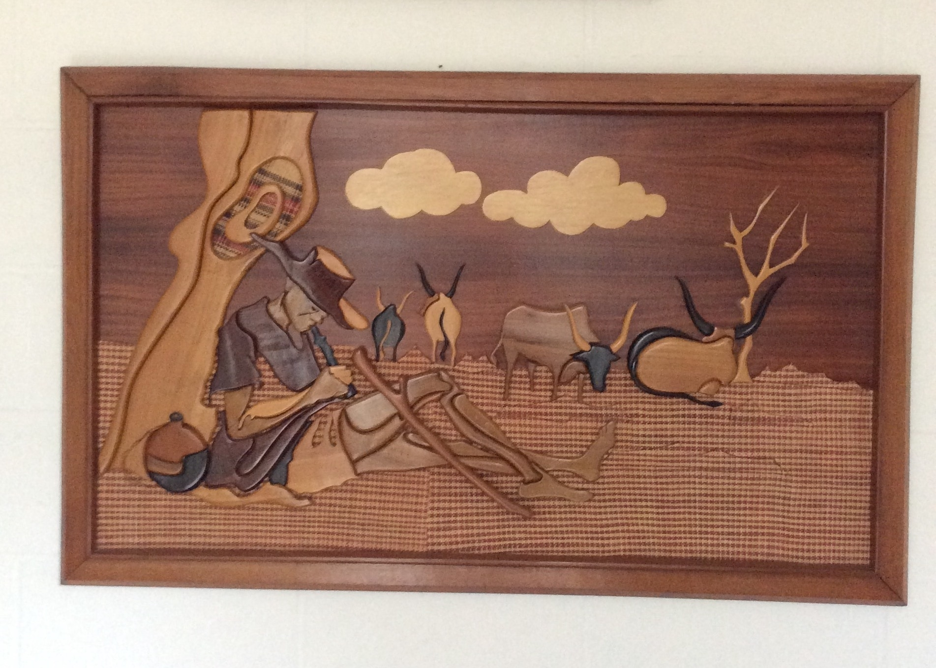 Wooden African Wall Art – Kazeem The Tomb Raider In Latest African Wall Art (View 15 of 15)