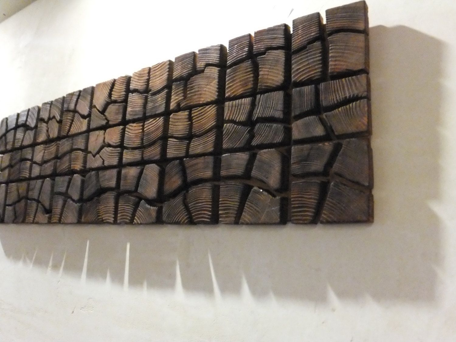 "Wooden Artwork For Walls Unique Wooden Wall Art – 40"" X 12"" X 2 Pertaining To Newest Wooden Wall Art (View 14 of 15)"