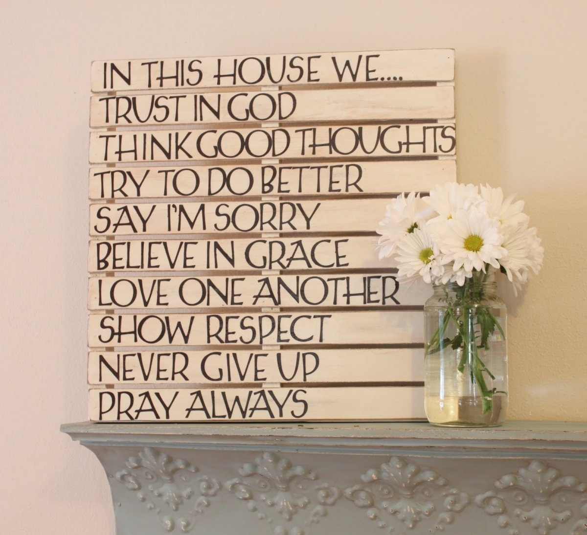 Wooden Wall Art Inspirational Quotes Quotesgram, Wood Wall Art With Recent Wood Wall Art Quotes (Gallery 18 of 20)