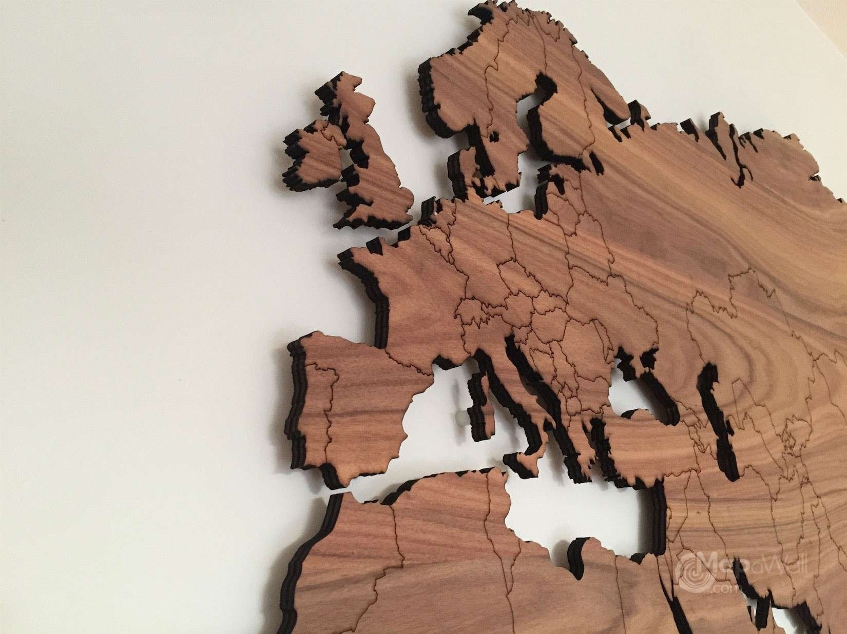 Wooden World Map Wall Art Bberry Me And | Macuser With Regard To Most Popular Maps Wall Art (Gallery 18 of 20)